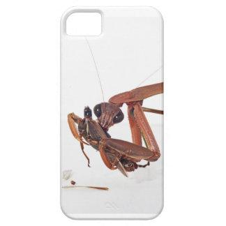 空腹なカマキリの電話箱 iPhone SE/5/5s ケース