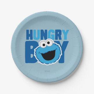 空腹なクッキーモンスター ペーパープレート