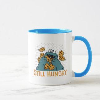 空腹なセサミストリート|のクッキーモンスター-まだ マグカップ