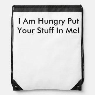 空腹なバッグ ナップサック