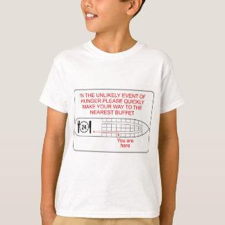 空腹の緊急事態 Tシャツ