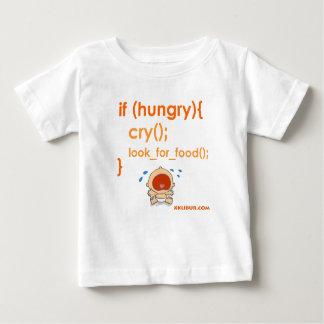 空腹 ベビーTシャツ