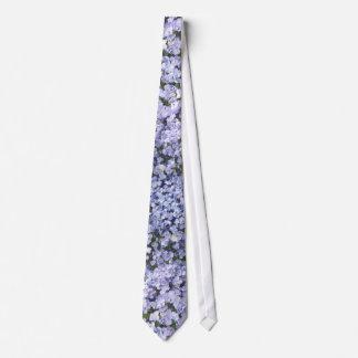 空色のアジサイの花びらの結婚 ネクタイ