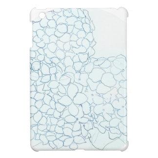空色のアジサイ iPad MINIケース