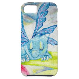 空色のドラゴンの妖精の花ユリの嵐の稲妻 iPhone SE/5/5s ケース