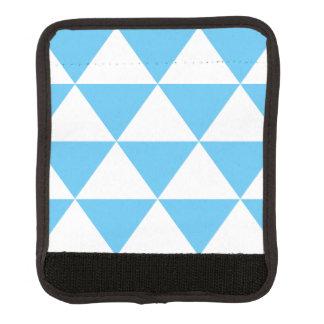空色の三角形パターン ラゲッジ ハンドルラップ