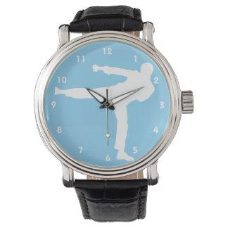 空色の空手 腕時計
