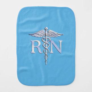 空色の装飾の公認看護師RNのケリュケイオン バープクロス