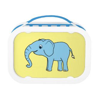 空色の赤ん坊象 ランチボックス