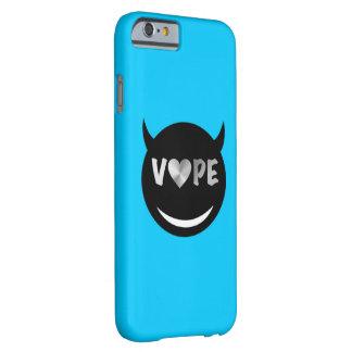 空色の黒のVapeのハートの反逆者 Barely There iPhone 6 ケース