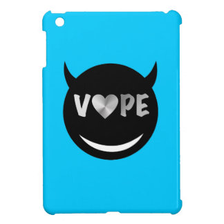 空色の黒のVapeのハートの反逆者 iPad Miniケース