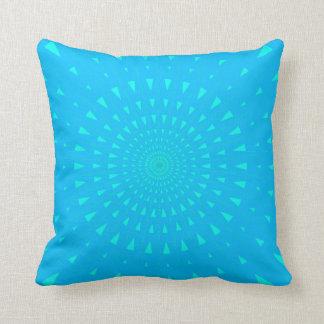 空色エネルギー破烈のアクセントの枕 クッション