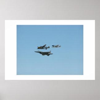 空軍お祝い ポスター