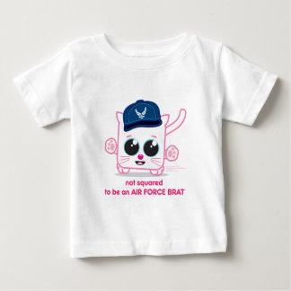 空軍がきがあるために平方されない ベビーTシャツ
