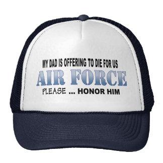 空軍パパの名誉 キャップ