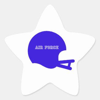 空軍ヘルメットのヴィンテージのヘルメットのロゴ 星形シールステッカー