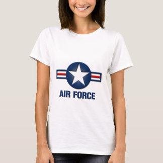 空軍ロゴの女性Tシャツ Tシャツ