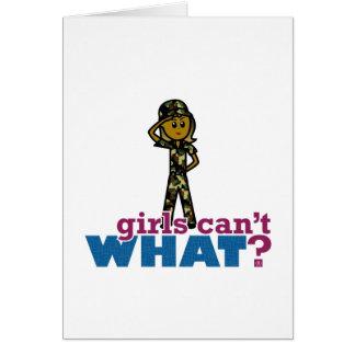 空軍女の子 カード