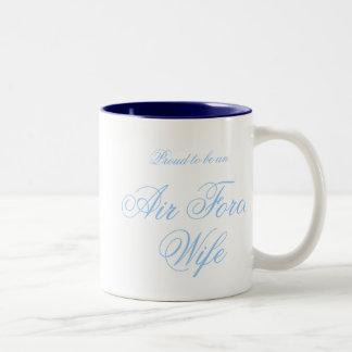 空軍妻のマグ ツートーンマグカップ