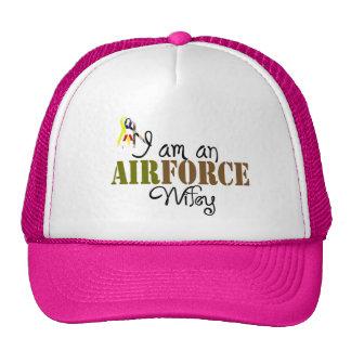 空軍妻 メッシュキャップ