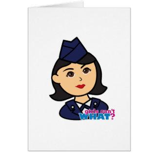 空軍媒体の頭部 カード