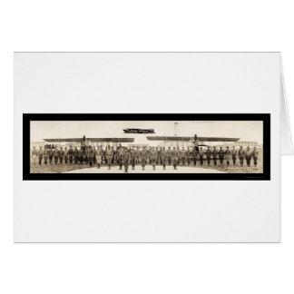 空軍将校愛分野TXの写真1918年 カード