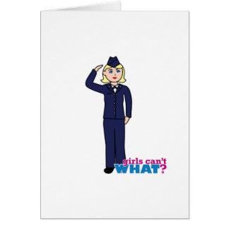 空軍服青ライト カード