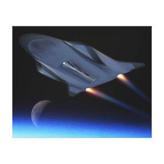 空軍極超音速の巡航車の芸術家の概念 キャンバスプリント