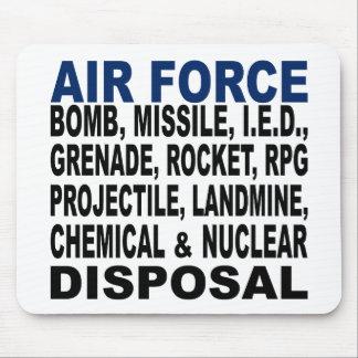 空軍爆弾等の処分 マウスパッド