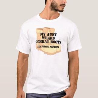 空軍甥DCBの叔母さん Tシャツ