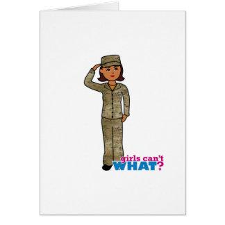 空軍迷彩柄の暗闇 カード