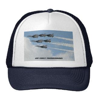 空軍雷鳥 トラッカーキャップ