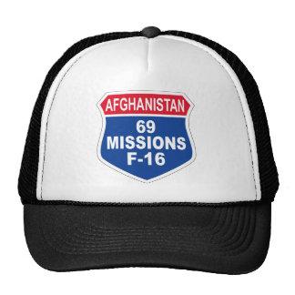 空軍69代表団F-16アフガニスタン メッシュハット