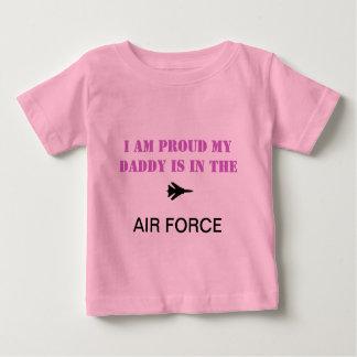 空軍 ベビーTシャツ