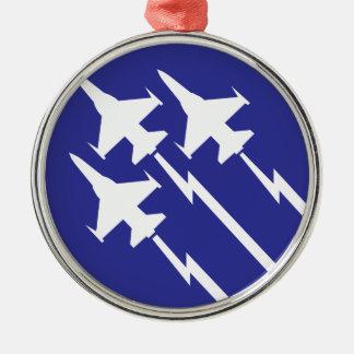 空軍 メタルオーナメント