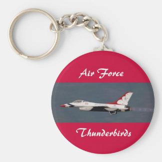 空軍、雷鳥 キーホルダー