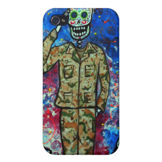 空軍ARMY DIA DE LOS MUERTOS iPhone 4 CASE