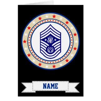 空軍CMSAFの主な一等軍曹 カード