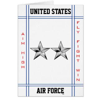 空軍Major General O-8の将補 カード