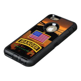 空輸のレーンジャーの退役軍人の獣医LRRP オッターボックスディフェンダーiPhoneケース