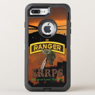空輸のレーンジャーの退役軍人の獣医LRRP オッターボックスディフェンダーiPhone 7 PLUS ケース