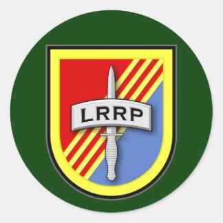 空輸173d -歩兵のLRRPs第74ベトナムのフラッシュ ラウンドシール