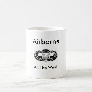 空輸、ずっと! コーヒーマグカップ