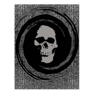 空間のスカル ポストカード