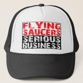 空飛ぶ円盤-深刻なビジネス キャップ