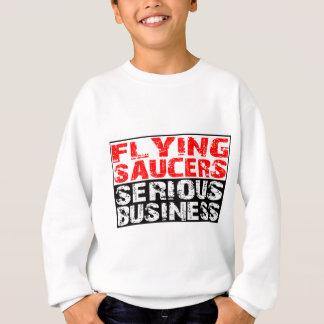 空飛ぶ円盤-深刻なビジネス スウェットシャツ