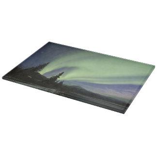 空2の緑のオーロラのborealisのカーテン カッティングボード