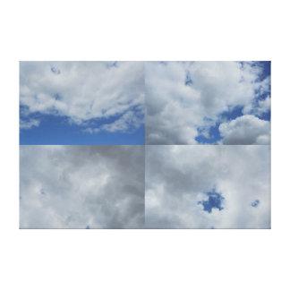 空 キャンバスプリント