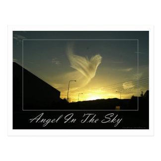 空(ロサンゼルス)の天使 ポストカード