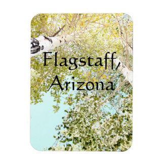 空、Flagstaff、アリゾナの部分 マグネット